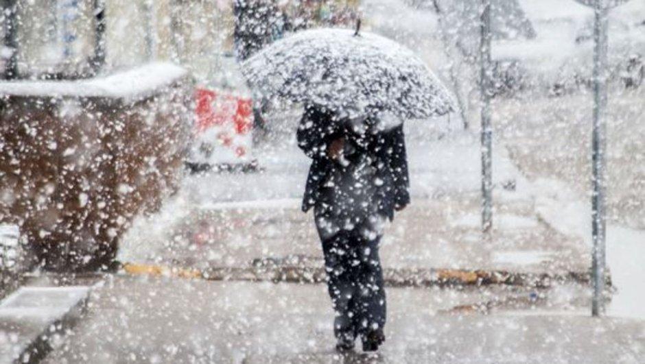 Meteoroloji'den uyarı! Kar geliyor