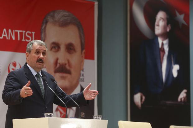 Mustafa Destici: İdam artık gelsin.