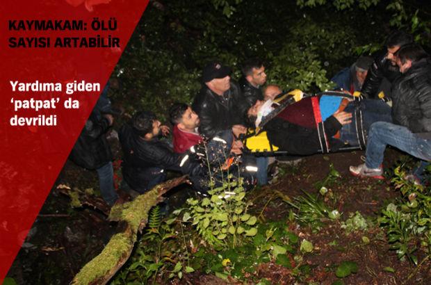 Zonguldak'ta katliam gibi kaza! Çok sayıda ölü ve yaralı