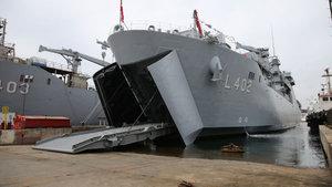 TCG Bayraktar Deniz Kuvvetleri Komutanlığına teslim edildi