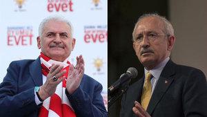 Başbakan Binali Yıldırım ve Kılıçdaroğlu'ndan 23 Nisan mesajı