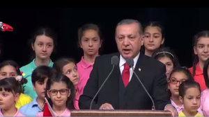 Cumhurbaşkanı Erdoğan'dan çocuklara: 4 kelimeyi hiç unutmayacaksınız