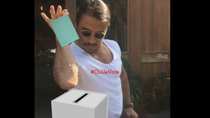 Fransa, seçmenini oy kullanmaya 'Nusret' ile çağırdı!