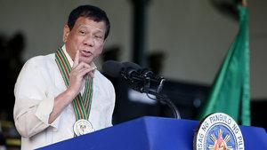 Duterte ateş püskürdü: Sizi sirke ve tuzla yerim!