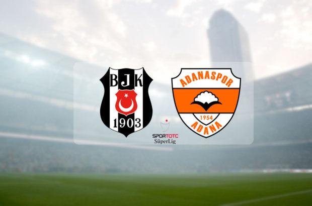 Beşiktaş, Adanaspor'u konuk ediyor