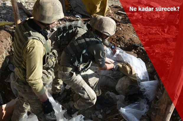 PKK'ya dev harekatta komuta 2'nci Ordu'da!
