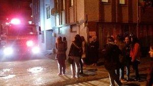 Sakarya'da kız yurdunda çıkan yangın paniğe neden oldu