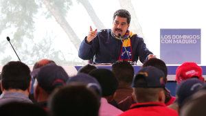 Maduro'dan muhalefete zeytin dalı!