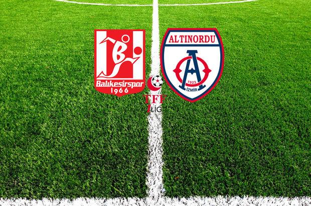 Balıkesirspor - Altınordu maçı ne zaman,hangi kanalda, saat kaçta?