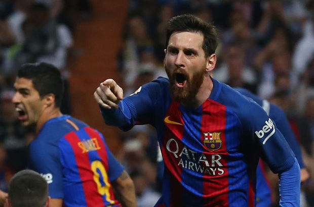 "Messi, ""500'ler kulübü""nde"