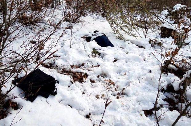 Üzeri karla kaplanmış halde bulundu!