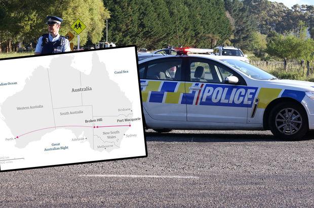 Avustralya'da 12 yaşındaki çocuk şoför 1300 kilometre yol gitmiş...