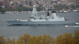 'Putin'i avlayacak' denilen savaş gemisi İstanbul Boğazı'nda!