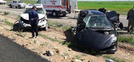 Şırnak'ta feci kaza: 1 polis öldü, 2'si polis 5 yaralı