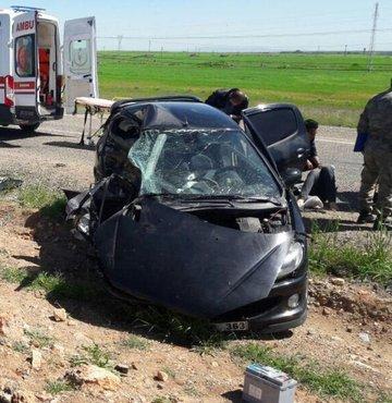 İki aracın çarpışması sonucu meydana gelen kazada yaralanan polis memuru tüm müdahalelere rağmen kurtarılamadı