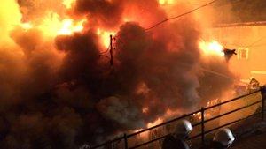 Ordu'da yangın! 5 bina zarar gördü