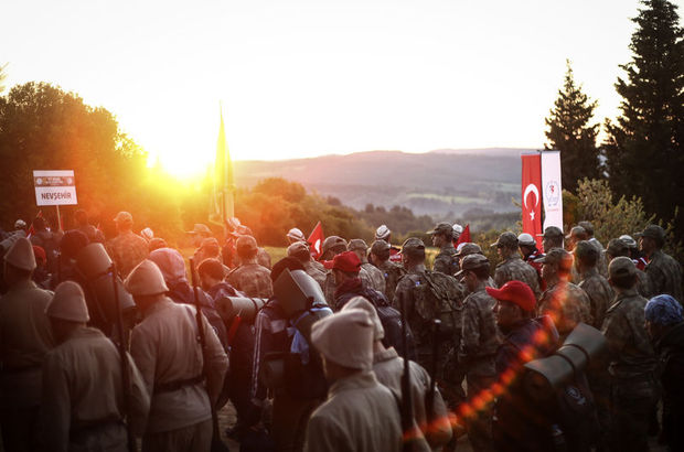 Yurt genelinde '57. Alay Çanakkale Vefa Yürüyüşü' yapıldı