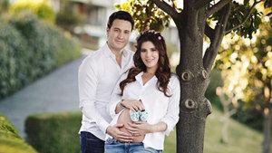Hatice Şendil ile Burak Sağyaşar çiftinin bebek heyecanı