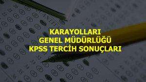 Karayolları Genel Müdürlüğü (KGM) KPSS tercih sonuçları açıklandı!