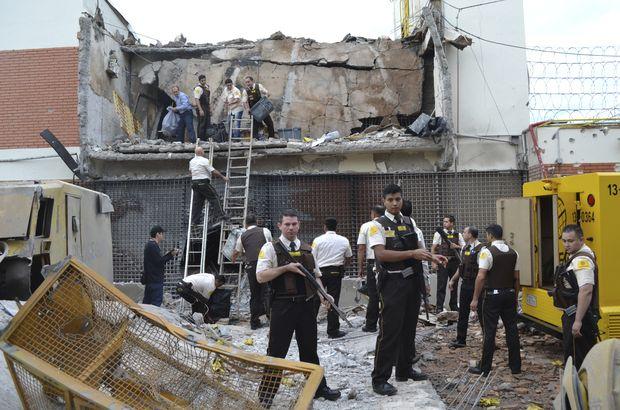 Paraguay'da yüzyılın soygunu! 80 kişi 40 milyon dolar...