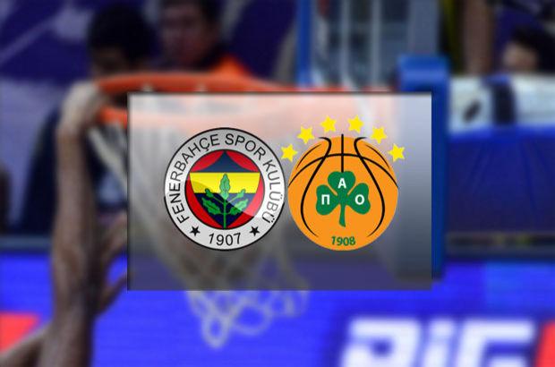 Fenerbahçe - Panathinaikos Basketbol maçı hangi kanalda, saat kaçta, şifresiz mi?