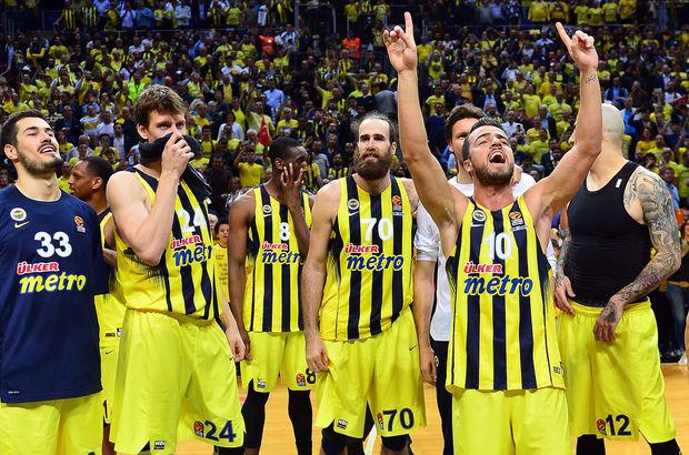 Fenerbahçe: 79 - Panathinaikos: 61 Basketbol Maçı | MAÇ SONUCU