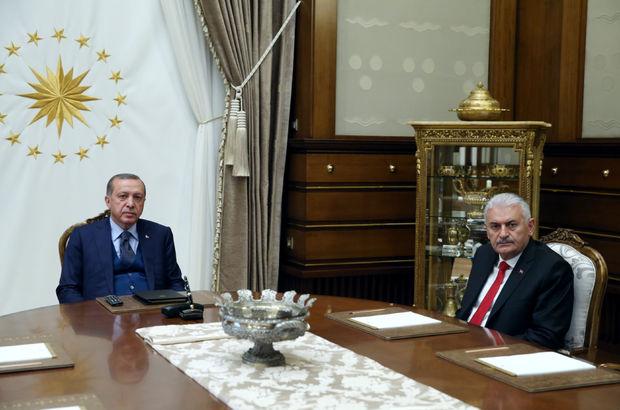 Erdoğan ve Yıldırım'dan, Başkent'te kritik görüşme