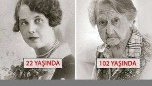Kişilerin fotoğraflarla 100 yıllık değişimi