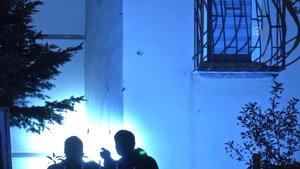 Ankara'da bir binaya kalaşnikof silahlarla ateş açıldı