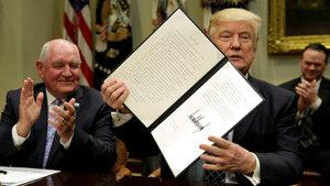 Donald Trump'tan tarım sektörüne destek kararnamesi!