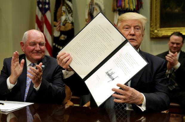 Trump'tan yeni kararname!