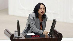 HDP'li Nursel Aydoğan'ın 'vekilliğini düşürme' yazısı Meclis'te