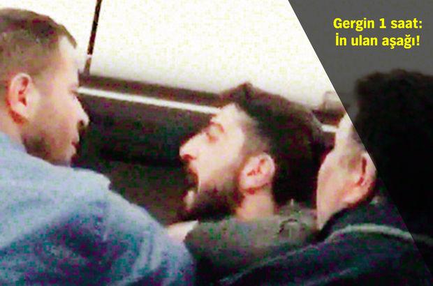 İstanbul-Elazığ uçağında ortalık karıştı!