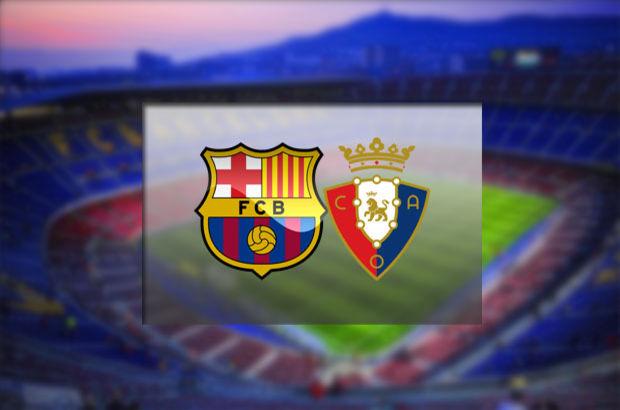 Barcelona - Osasuna maçı hangi kanalda, saat kaçta, şifresiz mi?
