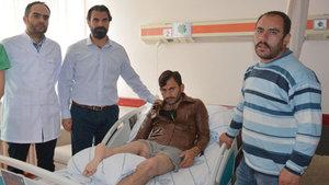 Fevzi Aktaş'ın protez kullanabilmesi için bacağı 180 derece ters dikildi!