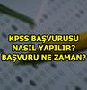 ÖSYM tarafından alınan kararla ek başvuru süresi tanınan KPSS için adaylar başvuru gününü bekliyor. Peki KPSS başvurusu nasıl yapılır?