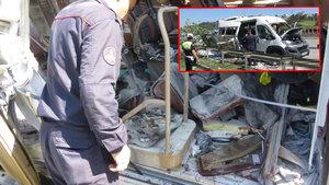 İstanbul'da servis minibüsünde patlama! 6 yaralı