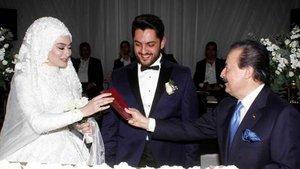 Burhan Çaçan oğlunu evlendirdi