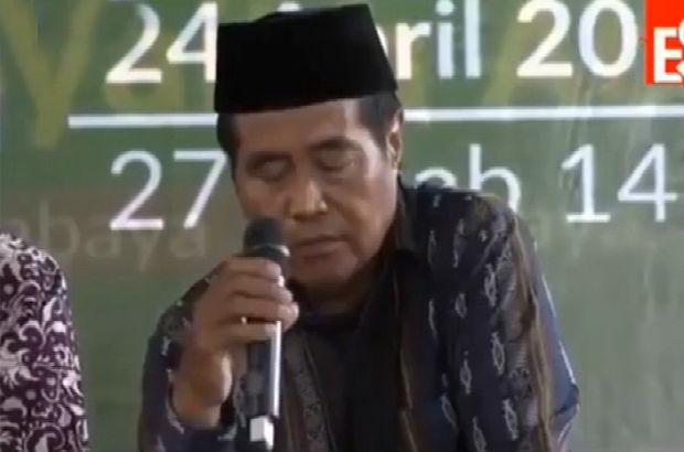Endonezyalı ünlü hafız Şeyh Abdurrahman canlı yayında öldü!