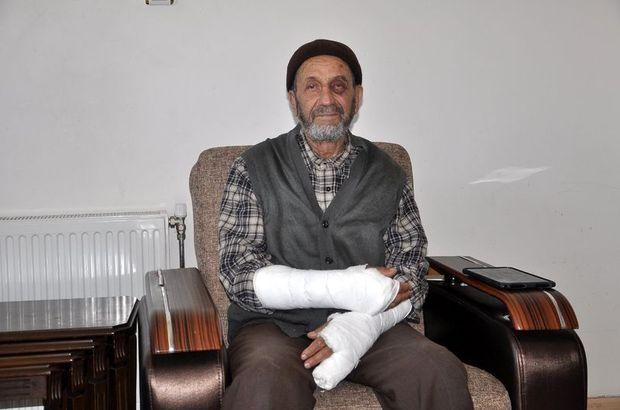 Adana'da yaşlı adama saldırıp kollarını kırdılar