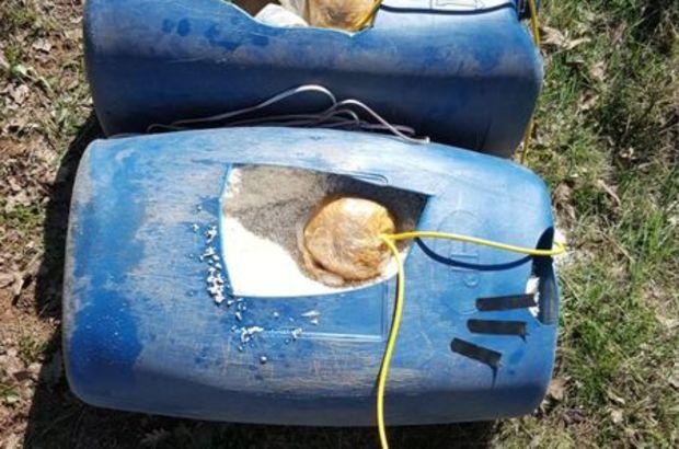 İki ayrı bölgede 2.5 ton patlayıcı bulundu!