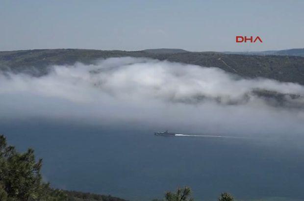 SON DAKİKA - Karadeniz'de Kilyos açıklarında Rus gemisi bir yük gemisiyle çarpıştı!
