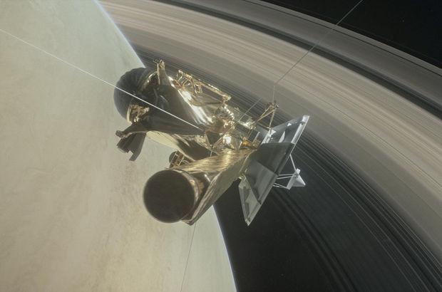 Satürn'de bir ilk gerçekleşti