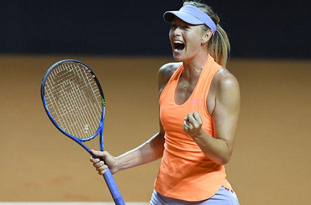 Maria Sharapova, Stuttgart'ta çeyrek finale yükseldi!