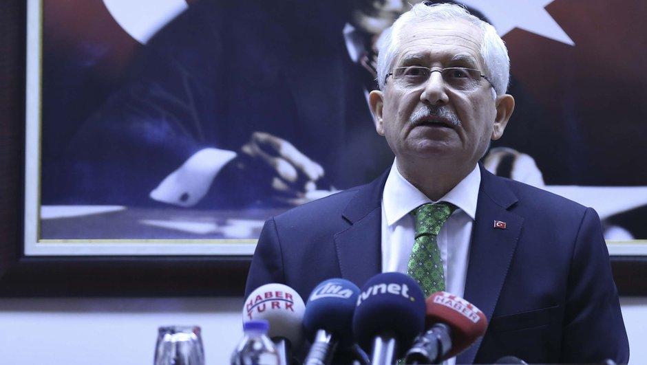 YSK Başkanı Güven, referandumun kesin sonuçlarını açıkladı