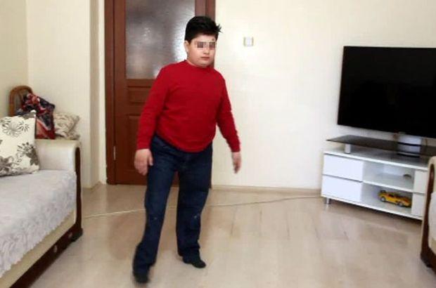 Protez bacaklı çocuğa darp iddiası