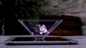 Akıllı telefonlar ile 3 boyutlu (3D) hologram yapımı