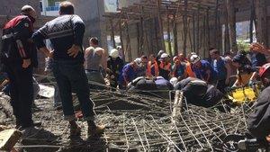 SON DAKİKA! Samsun'da cami inşaatı çöktü