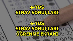 e-YDS sınav sonuçları ne zaman açıklanacak?