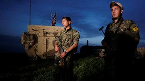 Türkiye-Suriye sınırında devriye nöbeti